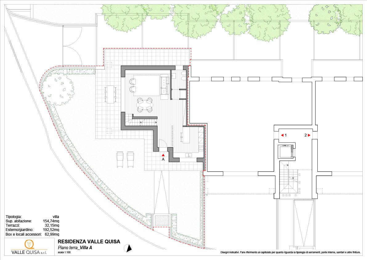 Residenza Valle Quisa Mozzo Villa A