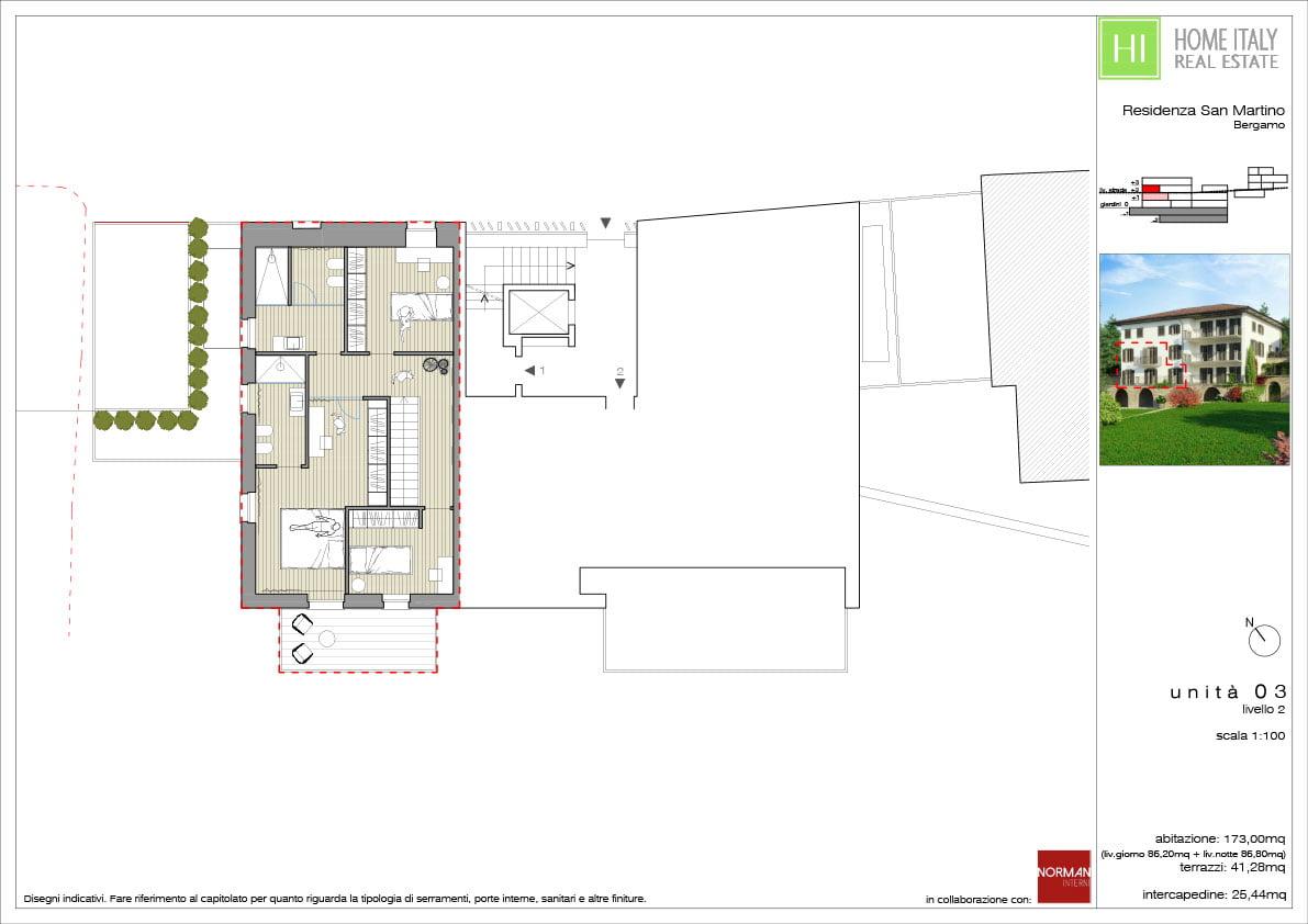 Residenza San Martino Unità 03